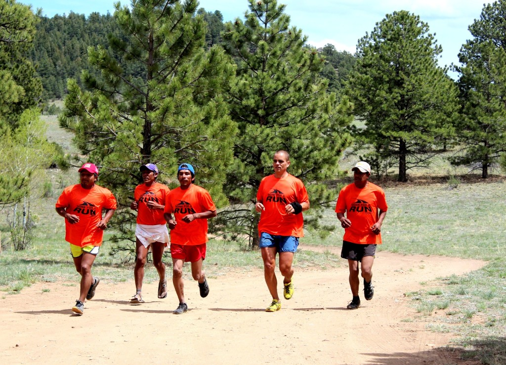 The Raramuri runners and Dave James made this first camp a real success.