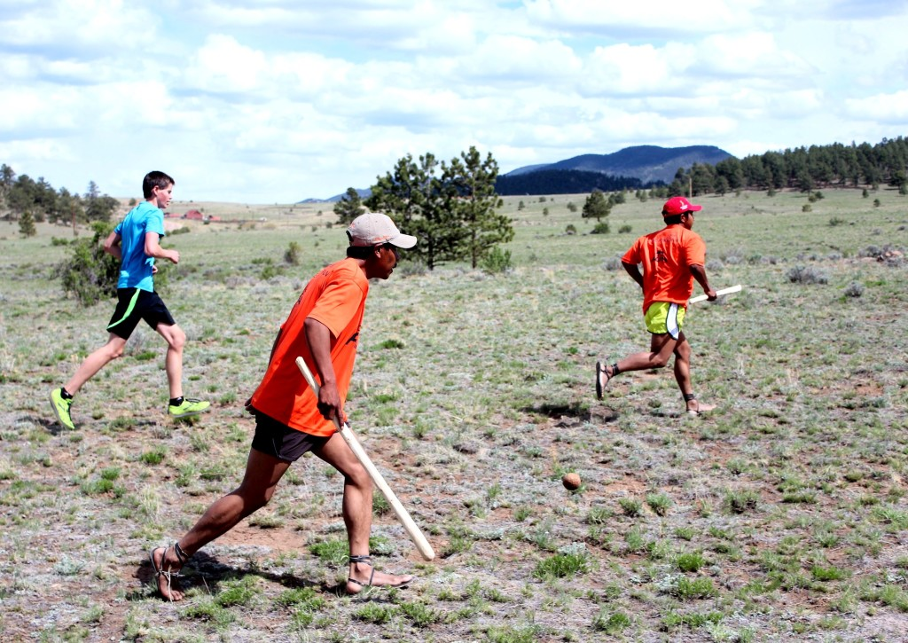 Playing rarajipari was so cool on the sage covered pastures of Custer County at Bear Basin.